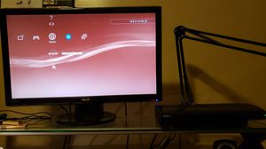 PS3 Super Slim 250gb/two controllers and charging dock for Sale in Detroit, MI