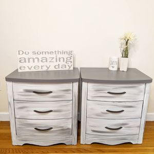 Pair of nightstands or End Tables for Sale in Saugus, MA