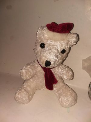 COLLECTIBLE GLASS EYED CHRISTMAS BEAR for Sale in Wilmington, DE
