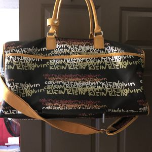 Calvin Klein Graffiti Monogram Duffle Bag for Sale in Pleasant Gap, PA