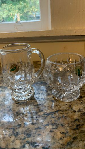 Waterford cream and sugar crystal for Sale in Houston, TX