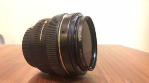 50mm and 55-250mm canon lenses for Sale in San Diego, CA