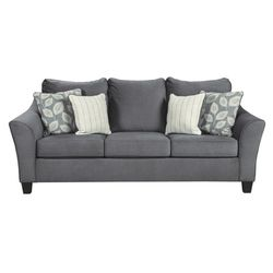 🔥New! Comfy, quality QUEEN grey sofa sleeper for Sale in Escondido,  CA