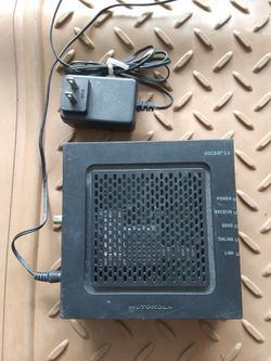 $30 firm Motorola surfboard cable modem trade for m12 batteries for Sale in San Diego,  CA
