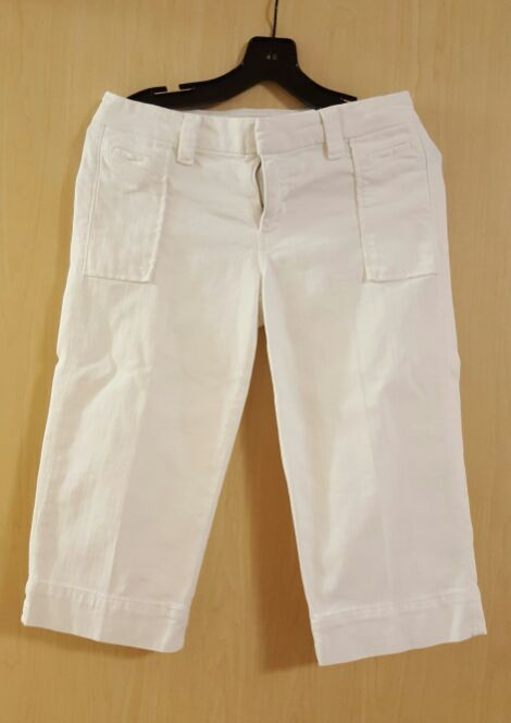 Joe's White denim Capri pants