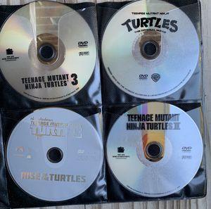 7 TEENAGE MUTANT NINJA TURTLES DVD MOVIES! Selling as a group~ READ BELOW FOR MORE SAVINGS!! for Sale in Virginia Beach, VA