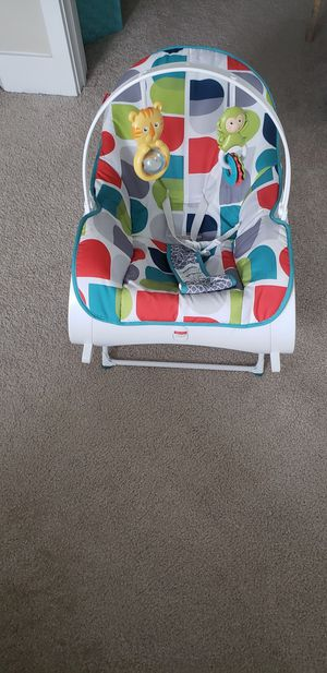 Rocking chair(Fisher price) and pillow (wellifes) for Sale in San Jose, CA