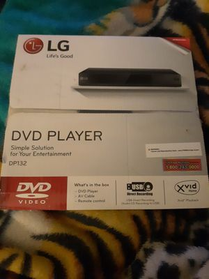 LG DVD player for Sale in Fresno, CA