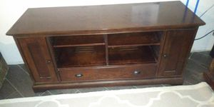 TV console. Real wood. Must go for Sale in Boca Raton, FL