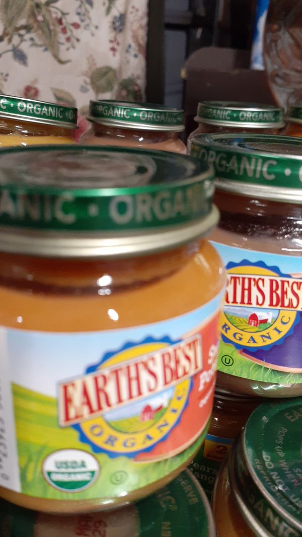 FREE FREE 34 bottles of baby food organic Earth's Best