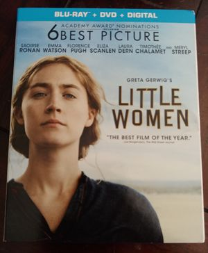 LITTLE WOMEN (BLU RAY + DVD) ***DIGITAL NOT INCLUDED*** (SEE OTHER POSTS) for Sale in El Cajon, CA