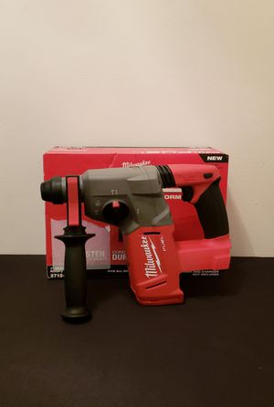 New Plus Rotary Hammer Milwaukee ONLY TOOL NO CHARGER OR BATTERIES FIRM PRICE for Sale in Woodbridge, VA