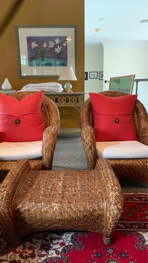 Chair/Ottoman Set for Sale in Houston, TX