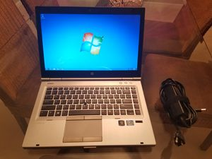 Windows 7 Pro x64 HP EliteBook 8470p Web Camera Skype for Sale in Chesterfield, MO