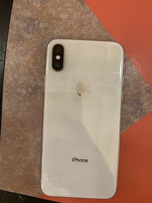 Factory unlocked iPhone X 64gb $500 for Sale in Decatur, GA
