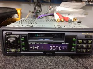 Clarion Pro Audio car tape deck for Sale in Jensen Beach, FL