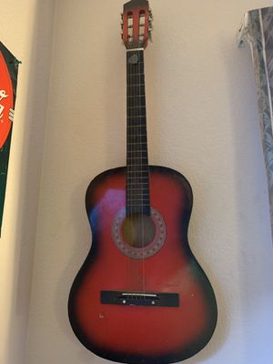 Nice acoustic guitar for Sale in Grover Beach, CA