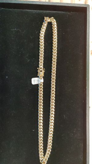 """14Kt gold 187.90gr 26"""" for Sale in Joliet, IL"""