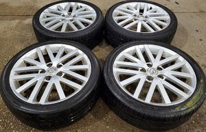 4 18 in 5x114.3 wheels rims and tires for Sale in Germantown, MD