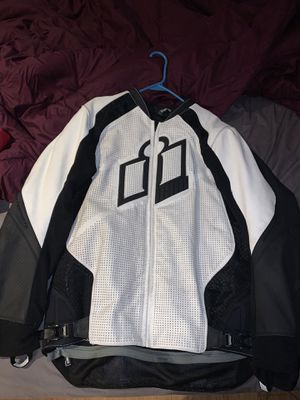 Motorcycle Leather Jacket ( Icon ) for Sale in Staten Island, NY