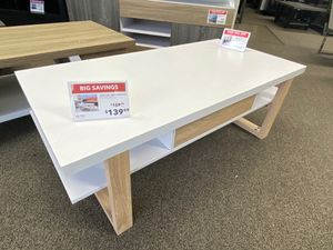 Coffee Table, White & Weathered for Sale in Bell Gardens, CA