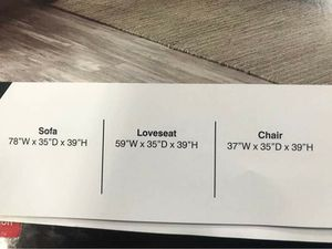 SOFA/LOVESEAT/ CHAIR SET for Sale in Columbus, OH