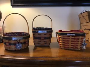 3 Longaberger Inaugural Baskets for Sale in Charlestown, IN