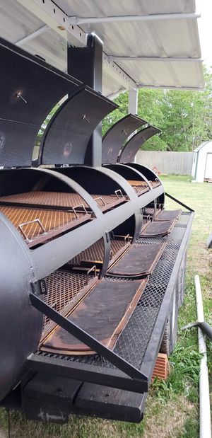 HUGE BBQ PIT PERFECT FOR BBQ BIZ OR CHURCH OR COMPANY BBQs Asking 10,900 for Sale in Sulphur, LA