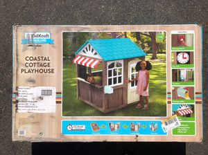 KidKraft Vintage Luxe Coastal Cottage Playhouse for Sale in Garden Grove, CA
