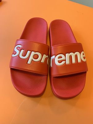 Supreme Slides Red size 11 for Sale in Nashville, TN