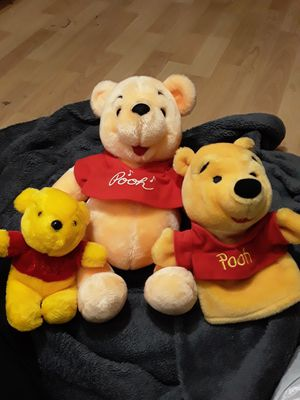 Winnie the pooh plush lot for Sale in Erial, NJ