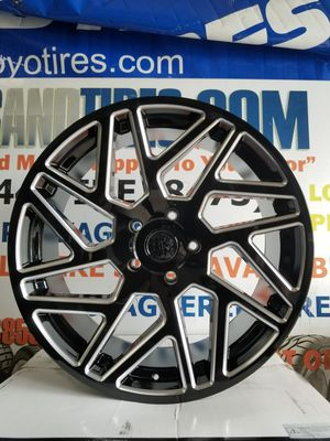 "New 24"" Inch 24x10 Black Rhino Cyclone wheels Toyota Sequoia Tundra fitment 5x150 rims for Sale in HALNDLE BCH, FL"