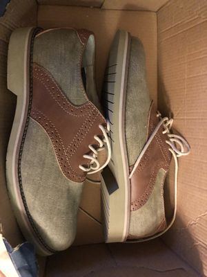 Men's Bass Tweed / Leather Dress Shoes Size 7.5 for Sale in New York, NY