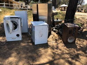 Appliances for parts for Sale in Valley Center, CA