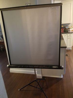 Projector Screen, Presentation screen for Sale in Portsmouth, VA