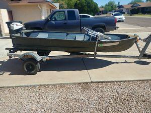 Jon boat 12ft for Sale in Tempe, AZ