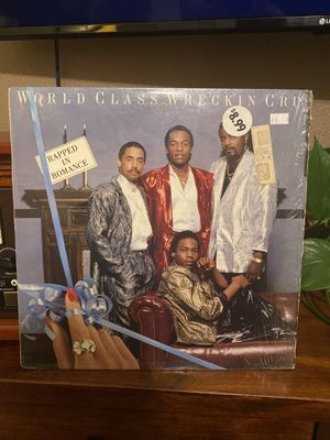 World Class Wreckin Cru : Rapped In Romance Vinyl Record ( Dr. Dre / DJ Yella ) for Sale in Perris, CA