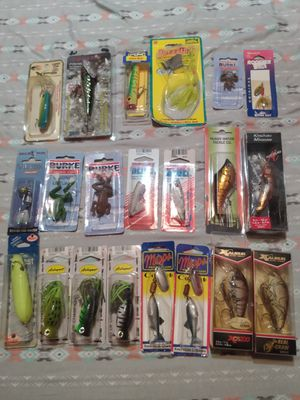 Fishing lures new for Sale in Greenwich, OH
