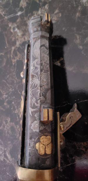 Flint lock repilca antique for Sale in Davenport, IA