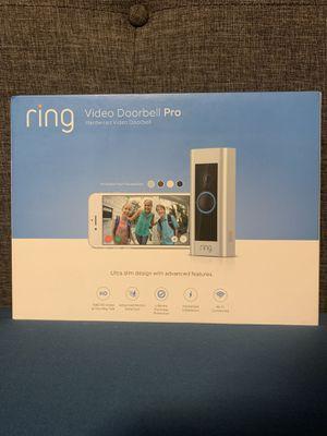 Ring video doorbell Pro hardwire ! for Sale in Los Angeles, CA