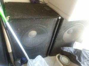 Black Widow speakers for Sale in Burlington, ND