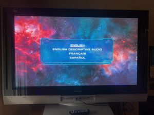 """55"""" Panasonic flat screen plus sound system! for Sale in Seattle, WA"""