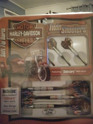 Harley Davidson 18 grm darts with twin shooters for Sale in Commerce, OK