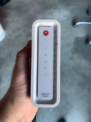 Motorola Gig speed cable modem for Sale in Seattle, WA