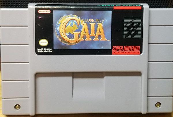Illusion of Gaia Super Nintendo SNES