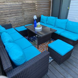 11 Seat Dining Patio Set for Sale in San Antonio, TX
