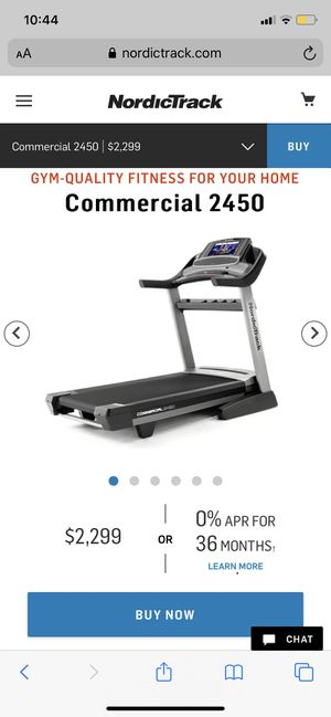 NordicTrack commercial 2450 Treadmill for Sale in Los Angeles, CA