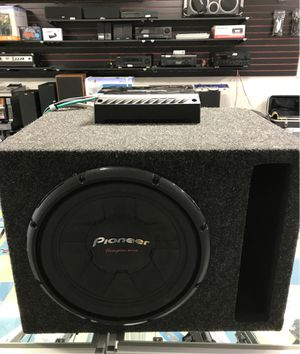 Pioneer ts-300d4 12 inch 1400watts 4-ohm dual voice coil car audio subwoofer for Sale in Dearborn Heights, MI