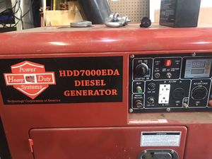 7kw diesel generator for Sale in Dewey, OK