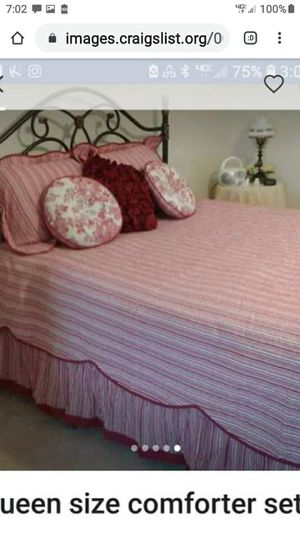 QUEEN SIZE LUXURY COMFORT SET for Sale in Lynchburg, VA